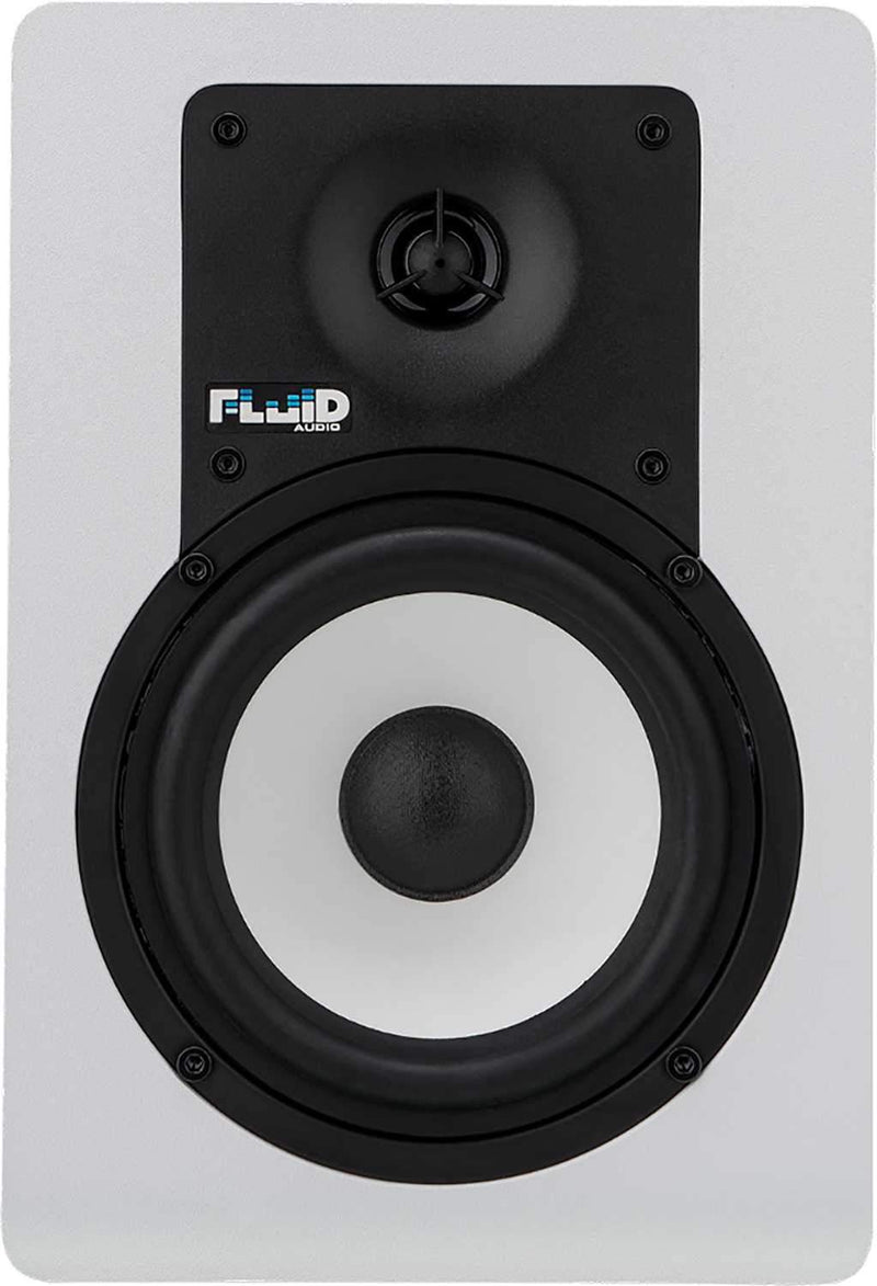 Fluid Audio C5BTW Pair 5-Inch Bluetooth Monitors - White - PSSL ProSound and Stage Lighting
