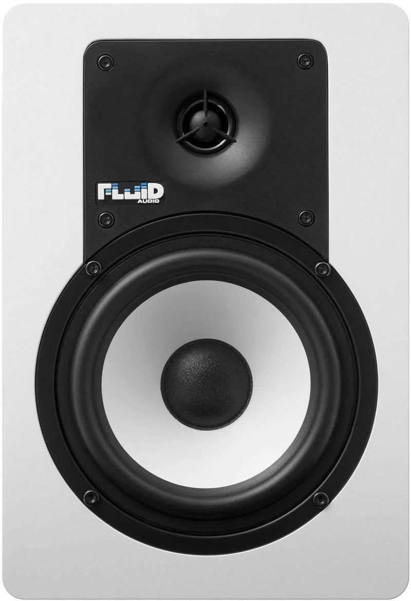Fluid Audio C5W Pair 5-Inch Powered Studio Monitors - ProSound and Stage Lighting