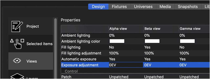 Elation Capture 2019 Symphony Unlimited Universe Lighting Software - PSSL ProSound and Stage Lighting
