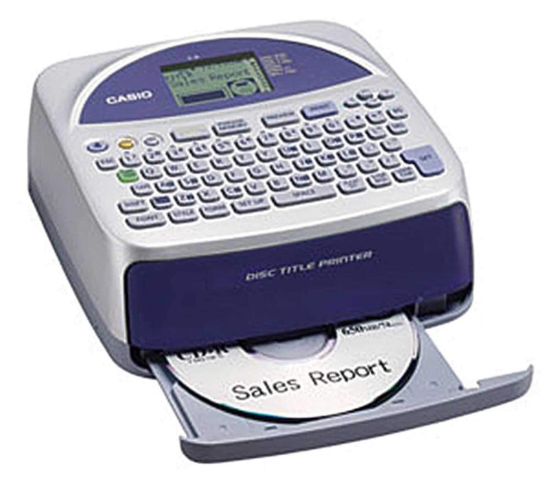Casio CW-75 Disc Title Printer USB Stand Alone - ProSound and Stage Lighting
