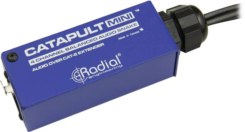 Radial Catapult MINI RX 4ch Cat5 XLRM Breakout Box - PSSL ProSound and Stage Lighting