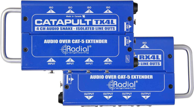 Radial Catapult TX4L 4 Channel Transmitter Line-level - PSSL ProSound and Stage Lighting