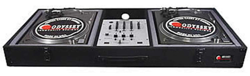 Odyssey Battle Style DJ Turntable Coffin Case - PSSL ProSound and Stage Lighting