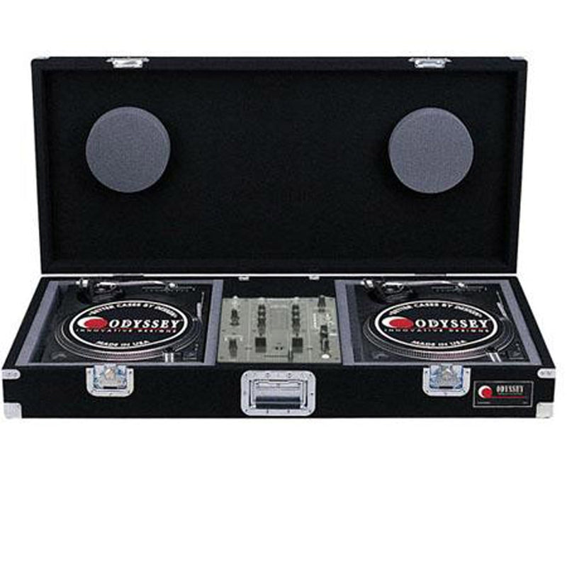Odyssey CBM10 Carpeted Battle Mode DJ Case - PSSL ProSound and Stage Lighting