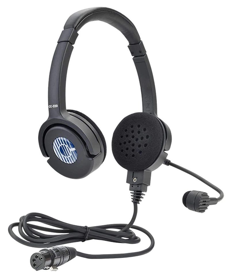 Clear-Com CC-220-X4 Lightweight Double-Ear Standard Headset - PSSL ProSound and Stage Lighting