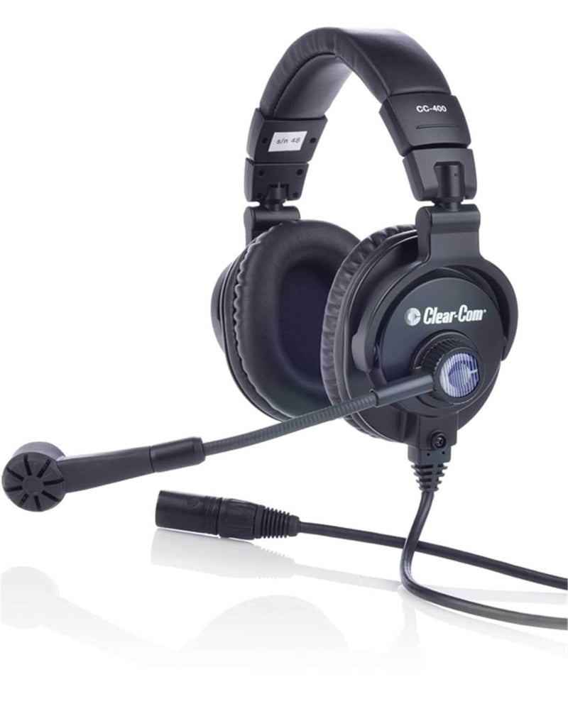 Clear-Com CC-400 Double-Ear Standard Headset - PSSL ProSound and Stage Lighting
