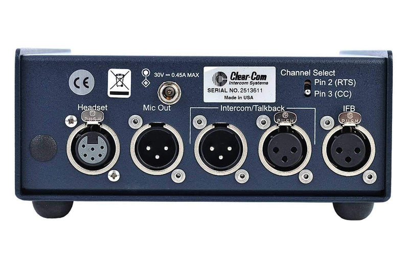 Clear-Com AB-120 On-Air Announcer Console - PSSL ProSound and Stage Lighting