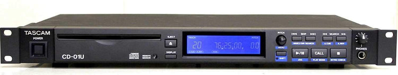 Tascam CD-01U Single Rack CD Player With SPDIF - PSSL ProSound and Stage Lighting