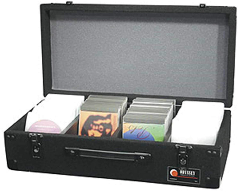 Odyssey CD100B Black CD Case Holds 100 - PSSL ProSound and Stage Lighting
