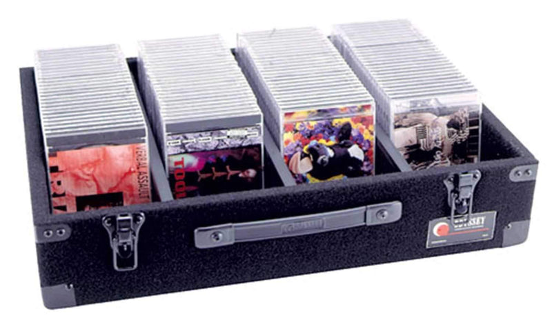 Odyssey CD DVD Video Game Media Case Holds 500 - PSSL ProSound and Stage Lighting
