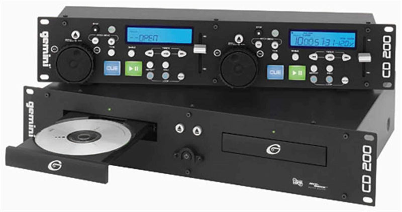 Gemini CD200 Pro Dual CD Player - PSSL ProSound and Stage Lighting