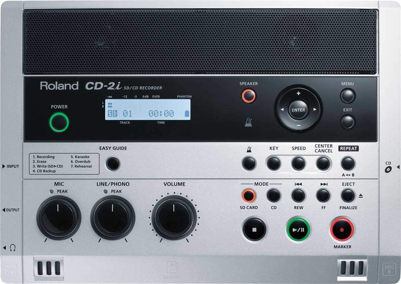 Roland CD-2I Instant SD/ CD Recorder - ProSound and Stage Lighting