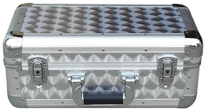Procase CD3R3D Silver 3 Row Cd Storage Case - PSSL ProSound and Stage Lighting