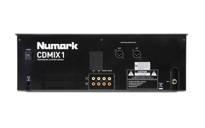 Numark CD-MIX-1 Dual CD Player/Mixer Combo - PSSL ProSound and Stage Lighting