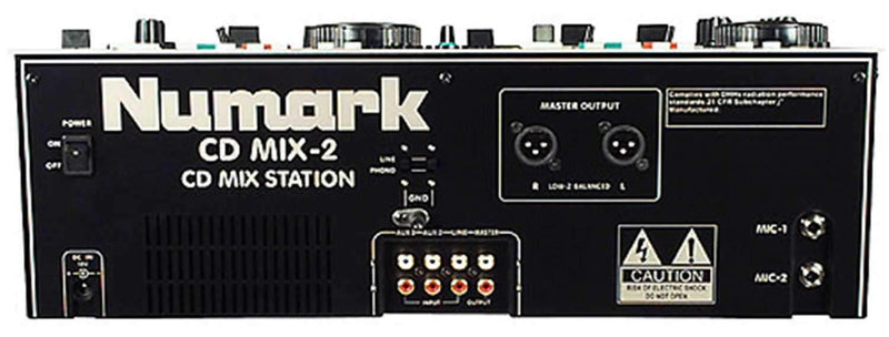 Numark CD-MIX-2 Dual CD Player/Mixer Combo - PSSL ProSound and Stage Lighting
