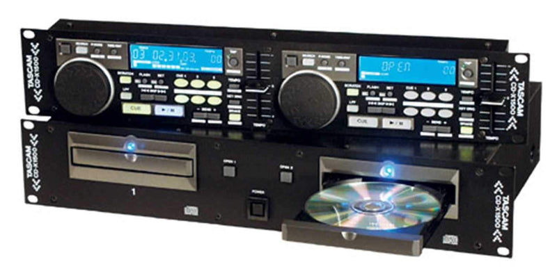 Tascam CDX1500 Dual CD Player - PSSL ProSound and Stage Lighting