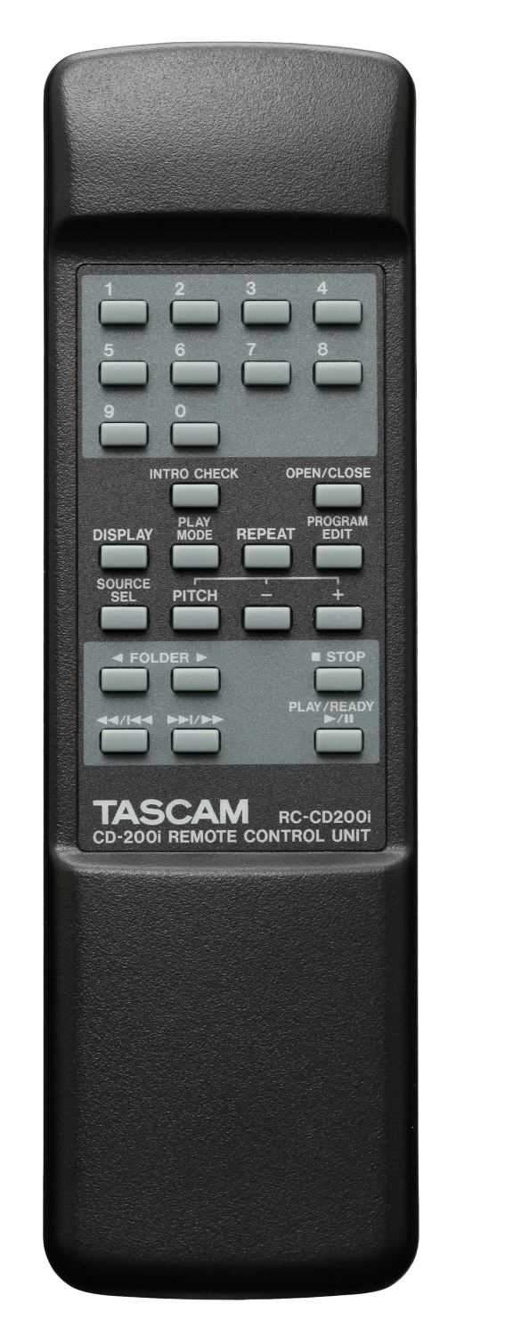 Tascam CD200I Rackmount CD Player And IPOD Dock - ProSound and Stage Lighting