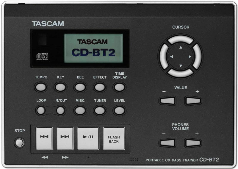 Tascam CDBT2 CD Bass Trainer - PSSL ProSound and Stage Lighting