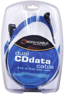 Accu-Cable CDD5 Data Cable For Dual Cd Players - PSSL ProSound and Stage Lighting