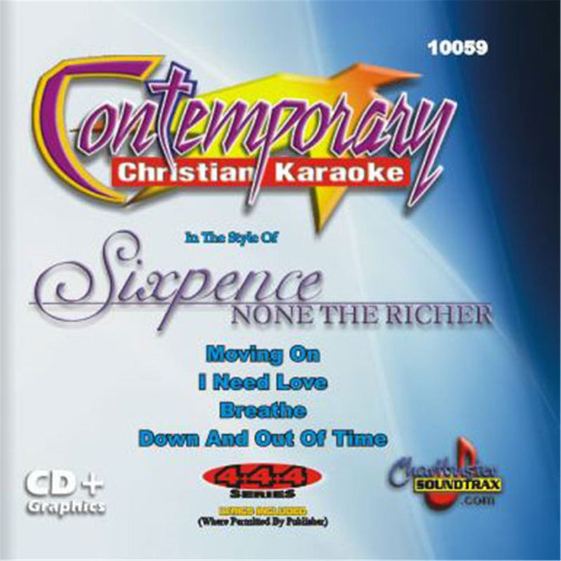 Chartbuster Karaoke Sixpence Non The Richer - PSSL ProSound and Stage Lighting