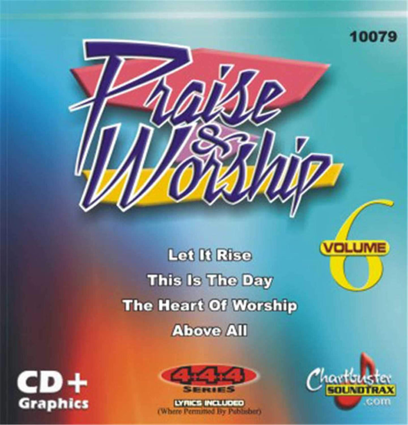 Chartbuster Praise And Worship Vol 6 - PSSL ProSound and Stage Lighting