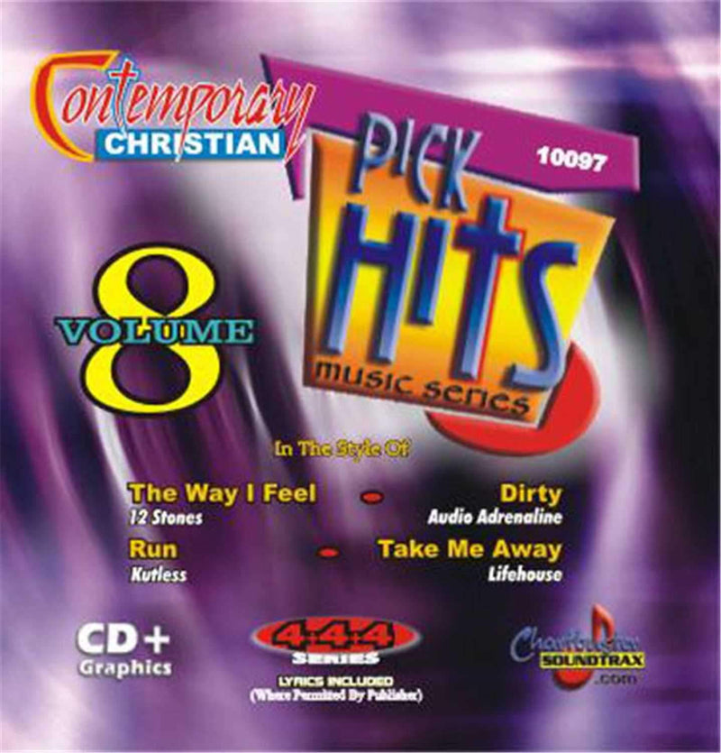 Chartbuster Contemporary Christian Pick Hits Vol 8 - ProSound and Stage Lighting