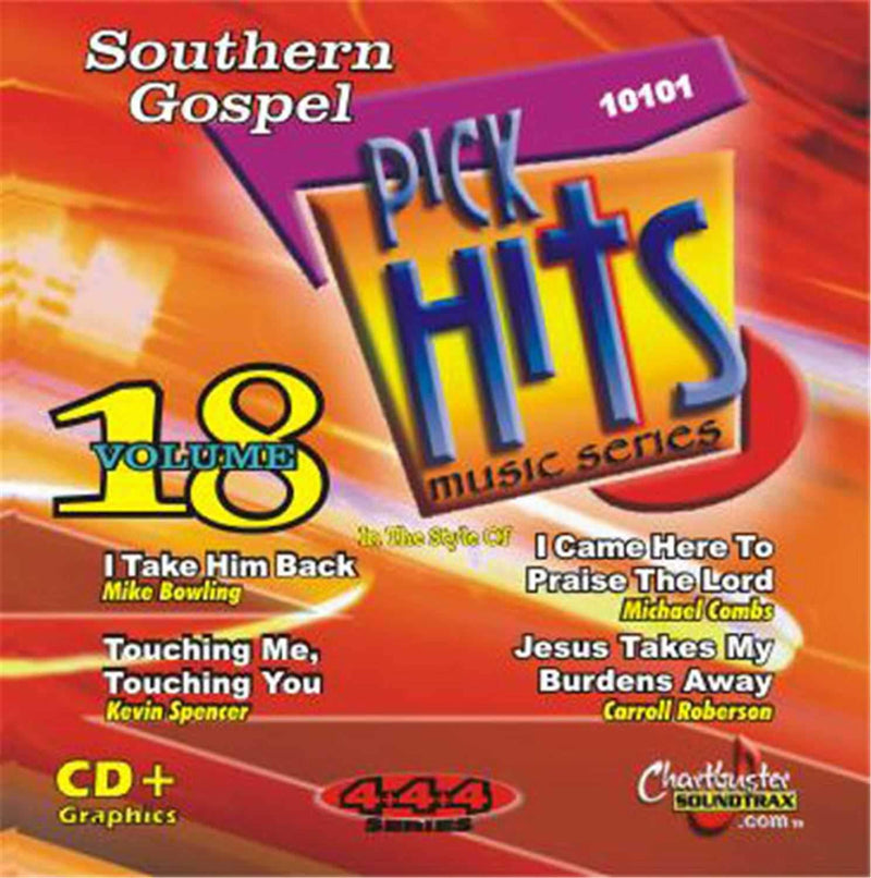 Chartbuster Southern Gospel Pick Hits Vol 18 - ProSound and Stage Lighting