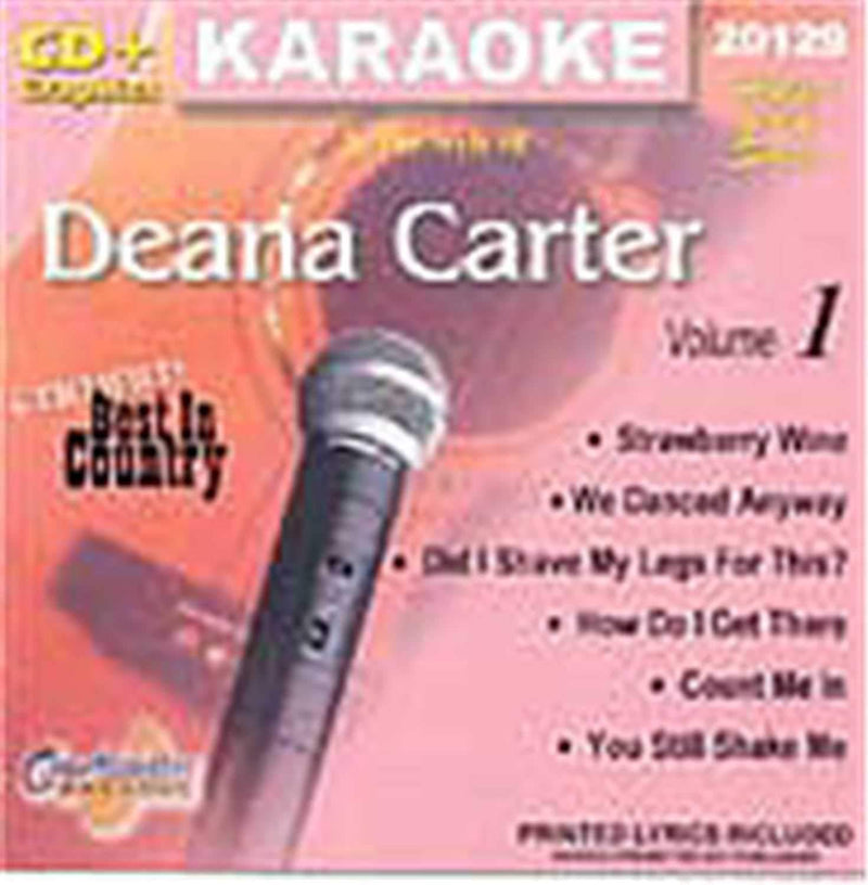Chartbuster Karaoke Artist Deanna Carter Vol 1 - PSSL ProSound and Stage Lighting