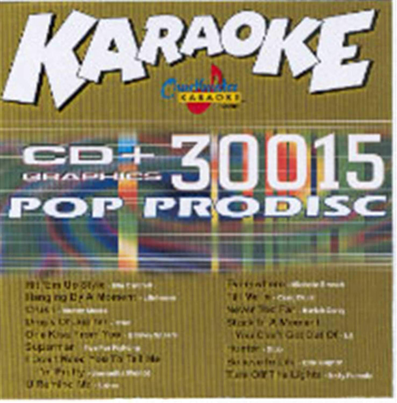 Chartbuster Karaoke Various Pop Artists Vol 15 - PSSL ProSound and Stage Lighting