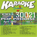 Chartbuster Karaoke April 2002 Pop Hits - PSSL ProSound and Stage Lighting