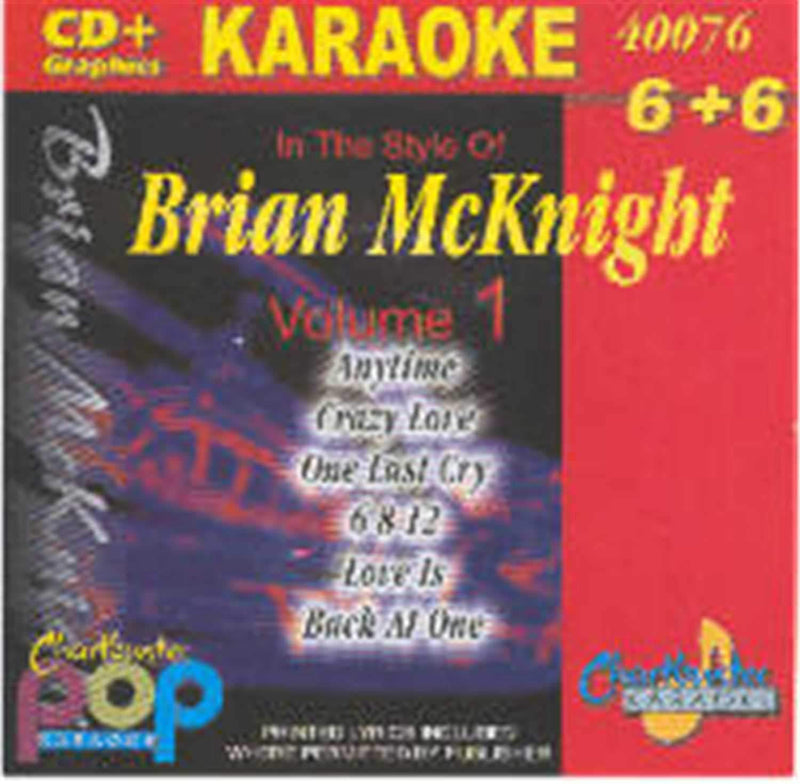 Chartbuster Karaoke Artist Brian Mcknight Vol 1 - ProSound and Stage Lighting
