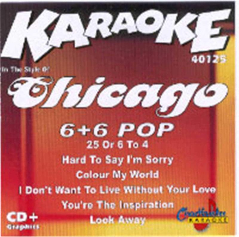 Chartbuster Karaoke Artist Chicago - PSSL ProSound and Stage Lighting