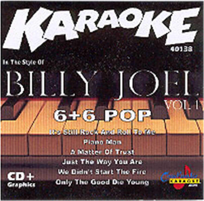 Chartbuster Karaoke Artist Billy Joel Vol 1 - PSSL ProSound and Stage Lighting