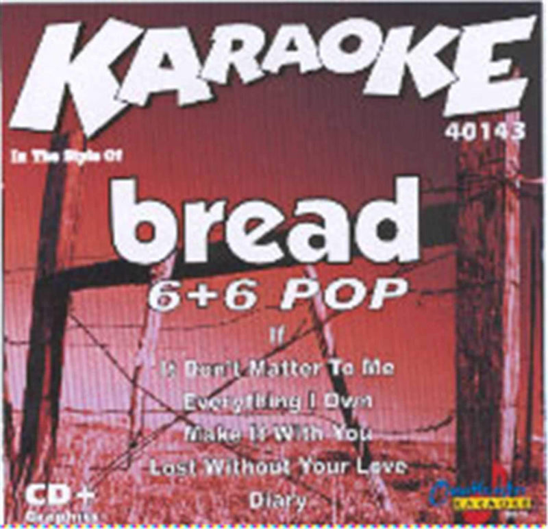 Chartbuster Karaoke Artist Bread - PSSL ProSound and Stage Lighting