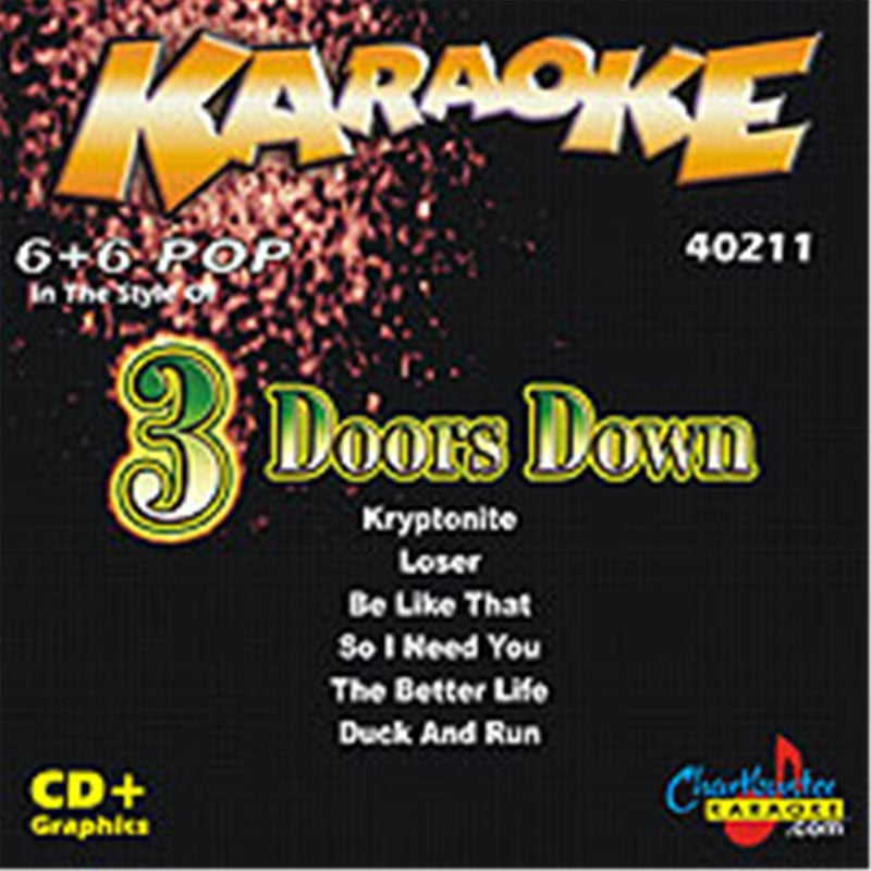 Chartbuster Karaoke Pop Artist 3 Doors Down - PSSL ProSound and Stage Lighting