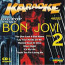 Chartbuster Karaoke Artist Bon Jovi Vol 2 - PSSL ProSound and Stage Lighting