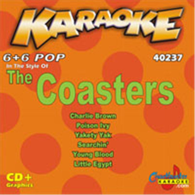 Chartbuster Karaoke Artist The Coasters - ProSound and Stage Lighting