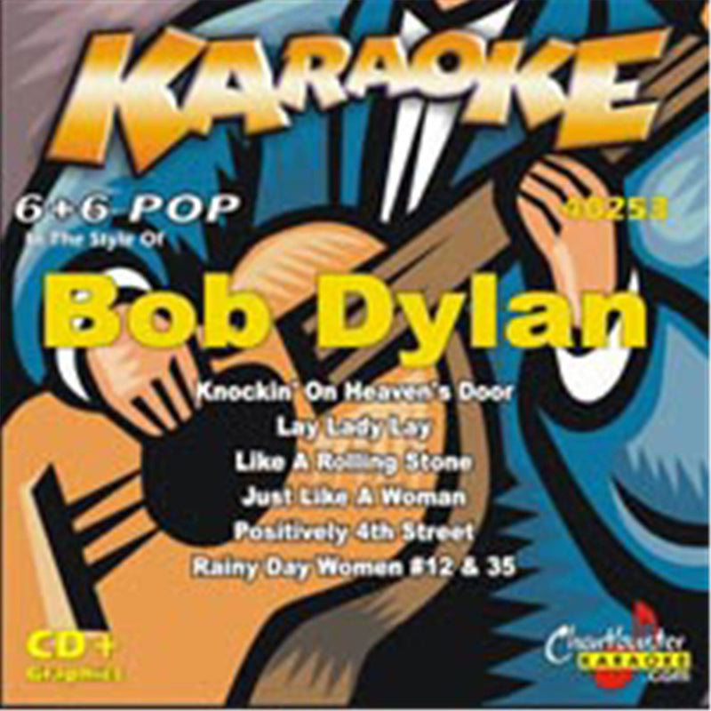 Chartbuster Karaoke Artist Bob Dylan - PSSL ProSound and Stage Lighting