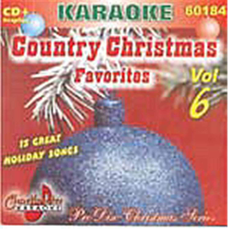 Chartbuster Karaoke Country Christmas Volume 6 - PSSL ProSound and Stage Lighting