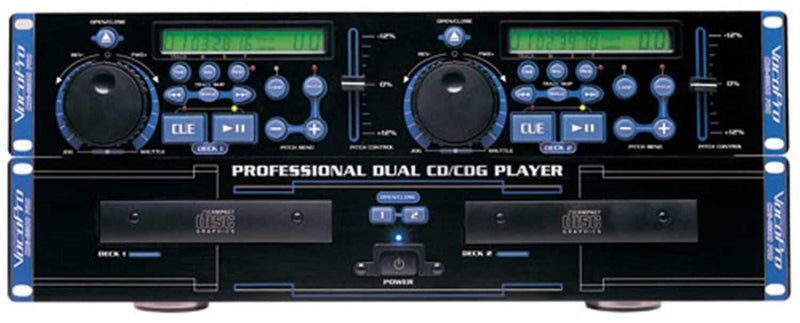 Vocopro CDG8800PRO Dual Format CDg Player - PSSL ProSound and Stage Lighting