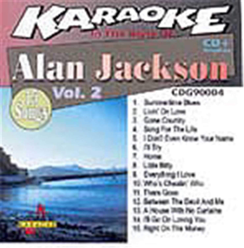 Chartbuster Karaoke Pro Artist Alan Jackson Vol 2 - ProSound and Stage Lighting