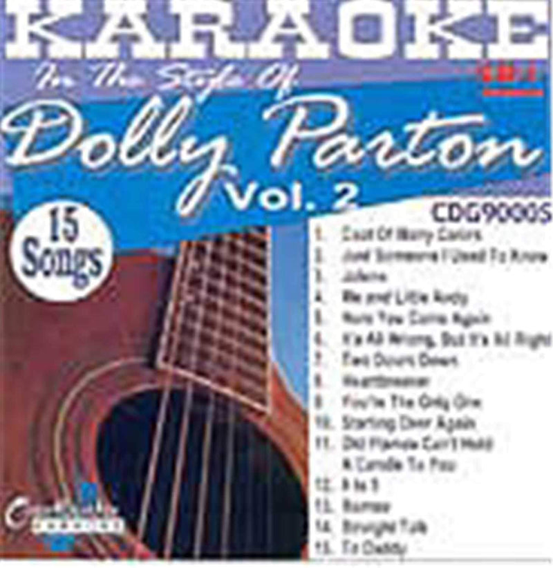 Chartbuster Karaoke Pro Artist Dolly Parton Vol 2 - ProSound and Stage Lighting