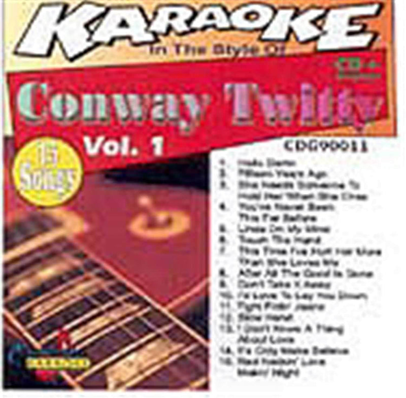 Chartbuster Karaoke Pro Artist Conway Twitty Vol 1 - PSSL ProSound and Stage Lighting