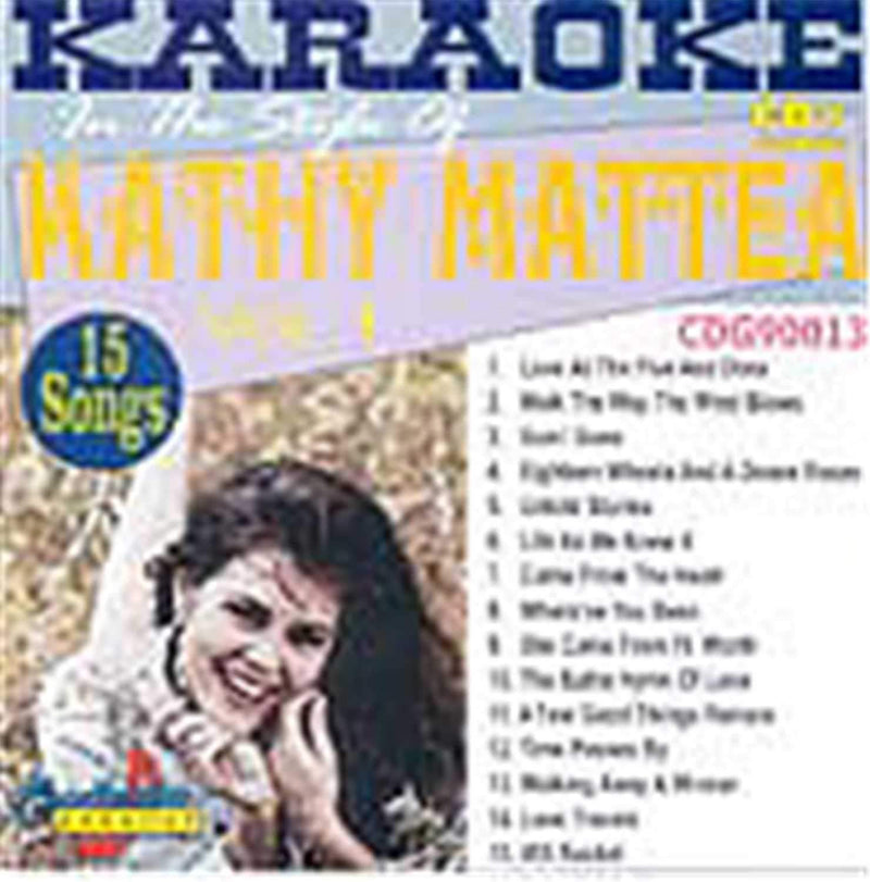 Chartbuster Karaoke Pro Artist Kathy Mattea Vol 1 - PSSL ProSound and Stage Lighting