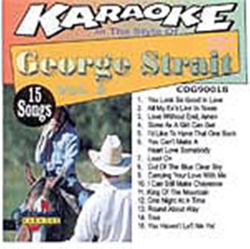 Chartbuster Karaoke Pro Artist George Strait Vol 3 - PSSL ProSound and Stage Lighting