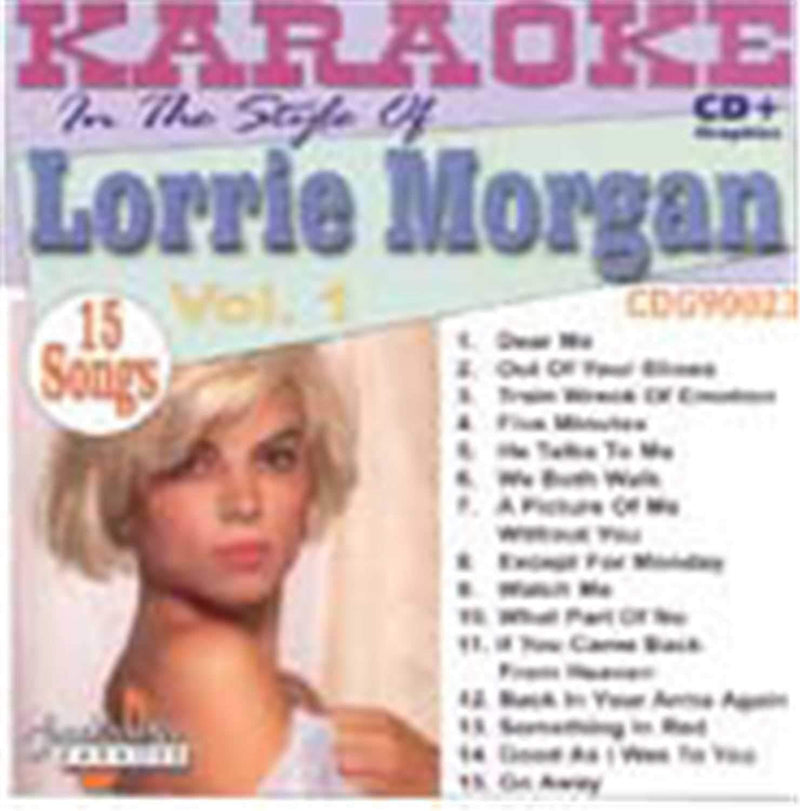 Chartbuster Karaoke Pro Artist Lorrie Morgan Vol 1 - PSSL ProSound and Stage Lighting