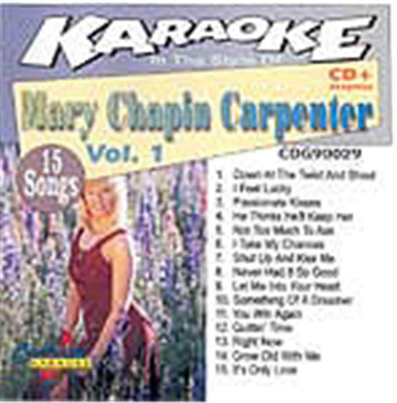 Chartbuster Karaoke Mary Chapin Carpenter Vol 1 - PSSL ProSound and Stage Lighting
