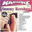 Chartbuster Karaoke Pro Artist Sammy Kershaw Vol 1 - PSSL ProSound and Stage Lighting