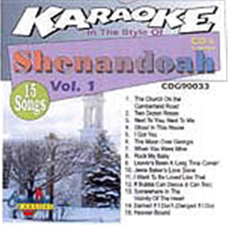 Chartbuster Karaoke Pro Artist Shenandoah Vol 1 - ProSound and Stage Lighting