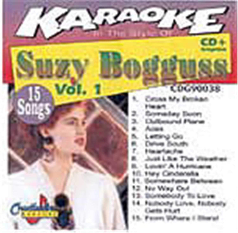 Chartbuster Karaoke Pro Artist Suzy Bogguss Vol 1 - PSSL ProSound and Stage Lighting